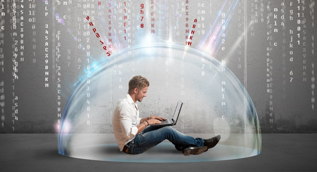Firewall and antivirus concept