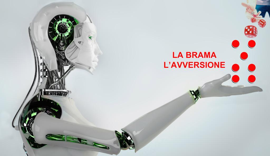 LA BRAMA L'AVVERSIONE ROBOT - geomanzia