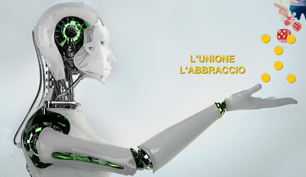 L'UNIONE L'ABBRACCIO ROBOT